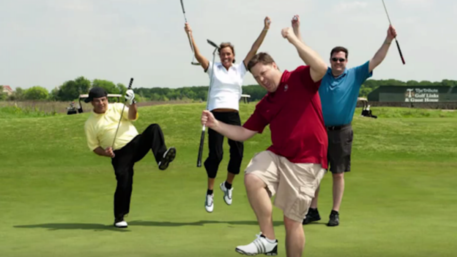 Create a fun golf tournament