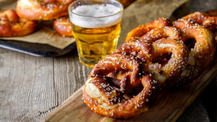 Pretzel and Beer Pairing