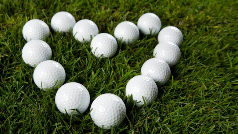 Heart Golf Balls Fundraising